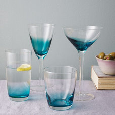 Contemporary Everyday Glassware by West Elm