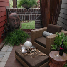Asian Patio by DK Design