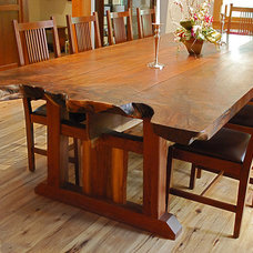 Craftsman Dining Tables by NEWwoodworks Fine Woodworking