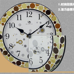 Modern Mosaic Style Wall Clock - WMS7003 - Type: Wall Clock