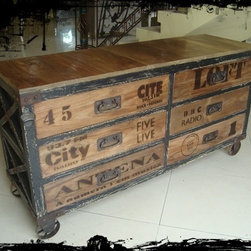 Industrial-Chic Furniture -