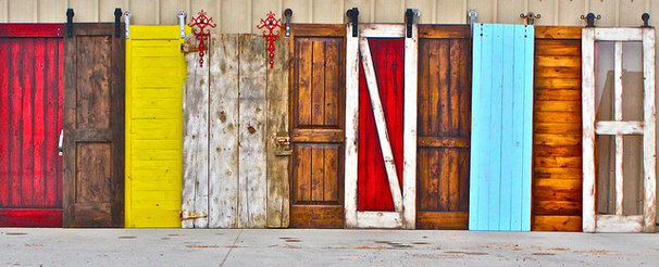 Farmhouse Interior Doors by Rustica Hardware