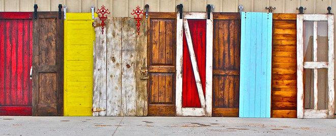 Farmhouse Interior Doors by Rustica Hardware