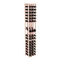 Wine Racks America - 3 Column Display Row Wine Cellar Kit in Redwood, White Wash + Satin Finish - Make your best vintage the focal point of your wine cellar. High-reveal display rows create a more intimate setting for avid collectors wine cellars. Our wine cellar kits are constructed to industry-leading standards. You'll be satisfied. We guarantee it.