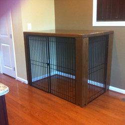 Residential Fencing - Custom dog crate in Gainesville, VA | Beitzell Fence