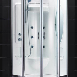 Dreamline Atlantica Jetted & Steam Shower - PRODUCT SPECIFICATIONS