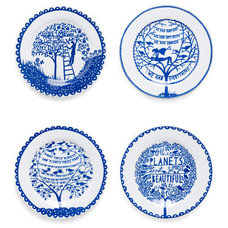 Contemporary Plates by ModCloth