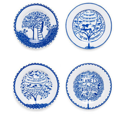 Contemporary Dinner Plates by ModCloth