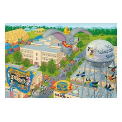 Disney Fine Art - Disney Fine Art A Day At The Studio Framed by Manuel Hernandez - A Day At The Studio Framed by Disney Fine Art  -  Limited To 795 Pieces World Wide  -  Size: 18 x 27 Inches  -  Medium: Lithograph on Paper  -  Hand Signed By The Artist: Manuel Hernandez  -  Produced by Collector's Editions  -  Fully Authorized Disney Fine Art Dealer  -  Ships Rolled in a Tube
