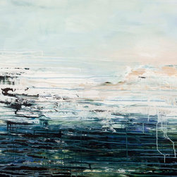 """Scandinavian Art Factory - """"Deep Water"""" Large Original Artwork - """"Deep Water"""""""