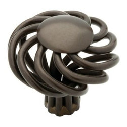Liberty Hardware - Liberty Hardware 65102RB Oil Rubbed Bronze - Avante 1.38 Inch Birdcage Knob - The whimsical design of this unique knob provides beauty and character to your cabinetry or furniture. Available in multiple colors. Width - 1.38 Inch, Height - 1.5 Inch, Projection - 1.5 Inch, Finish - Rubbed Bronze II, Weight - 0.09 Lbs.
