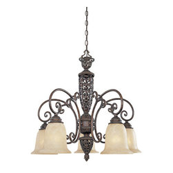 Designers Fountain - Designers Fountain 97586 Five Light Down Lighting Chandelier Amherst Co - Features: