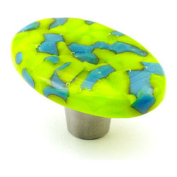 """Windborne Studios - Pebbles Glass Knobs and Pulls - The """"Pebbles Collection"""" is inspired by Northern Michigan Shorelines."""