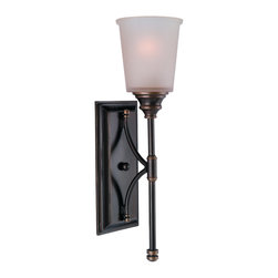 Sea Gull Lighting - Sea Gull Lighting 41330-825 Warwick Vintage Bronze Wall Sconce - Sea Gull Lighting 41330-825 Warwick Vintage Bronze Wall Sconce