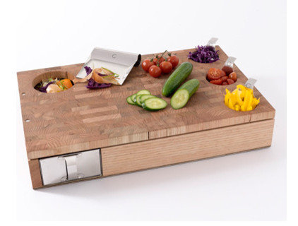 contemporary knives and chopping boards by Curtis Stone