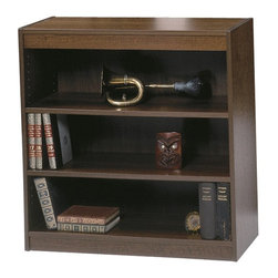 Safco - Safco 3-Shelf Square Edge Veneer Bookcase - 1502WLC - Shop for Bookcases from Hayneedle.com! A great accompanying piece for larger bookcases this Safco 3-Shelf Square Edge Veneer Bookcase is constructed of wood veneer. It's available in your choice of finish colors and comes complete with three shelves for storage and displaying your books. You can use the top of the shelf to display any personal items such as vases or picture frames. About Safco ProductsSafco products were specifically developed to meet the changing needs of the business world offering real design without great expense. Each product is designed to fit the needs of individuals and the way they work by enhancing comfort and meeting the modern needs of organization in the workplace. These products encourage work-area efficiency and ultimately work-life efficiency: from schools and universities to hospitals and clinics from small offices and businesses to corporations and large institutions airports restaurants and malls. Safco continues to offer new colors new styles and new solutions according to market trends and the ever-changing needs of business life.