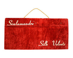 Scalamandr Italian Import Silk Swatches - JFK's White House commissioned his work for silk fabric restoration in the 1960s. Now you can share some of the genius of Franco Scalamandré's textile treasures with this rare and collectible vintage Italian, silk swatch sample book from the 1940s.
