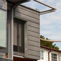 Private Residence in Toronto Canada - VMZ Interlocking and Metafor panels in QUARTZ-ZINC