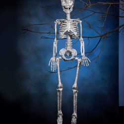 Bethany Lowe Designs - Sparkle Skeleton D̩cor - The basic structural element of Halloween d̩cor, your display simply won't stand without this classic skeleton. �� 8'' W x 34'' H Resin Imported