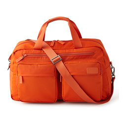 "Lipault - Tangerine 19"" Weekend Bag - LipaultTangerine 19"" Weekend BagDesigner About LipaultLaunched in 2005 by French designer François Lipovetsky Lipault is an innovative luggage collection that combines all that is wondrous in modern design and ergonomic functionality. Lipault's collection of brightly colored lightweight trolleys and wheeled duffels in unique and unusual fabrications has been well received throughout Europe. Since March 2010 the collection has been available in the U.S. and Canada."