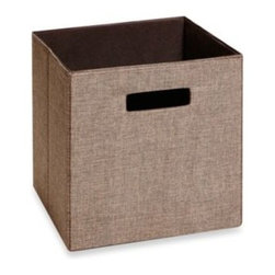 Real Simple - Real Simple  Fabric Drawer - Real Simple Fabric Drawers are compatible with all Real Simple storage and system units (sold separately). Easily slips in and out of open-front storage compartments and shelves to provide hidden, organized storage for a variety of items.
