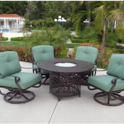 Meadow Decor Kingston Conversation Set With Fire Pit The