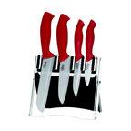 Good Cooking - Good Cooking Ceramic Knife Set - Red - - Ultra sharp, long life Zirconium Oxide blade.