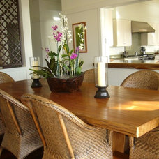 Tropical Dining Room by DPA