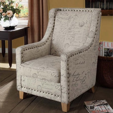 Contemporary Accent Chairs by AFA Stores