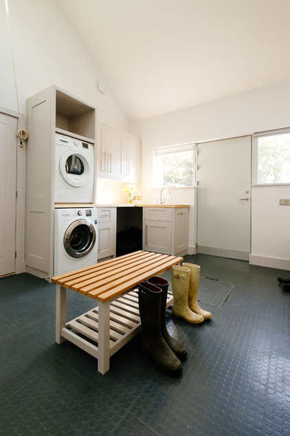 Contemporary Laundry Room Contemporary Utility Room