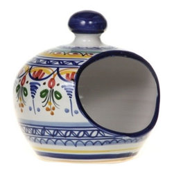 Spanish Majolica Sponge Holder - Spanish Majolica Sponge Holder