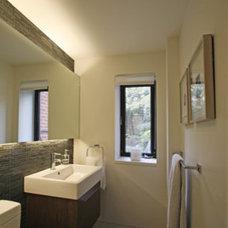Contemporary Bathroom by Sarah Jefferys Design
