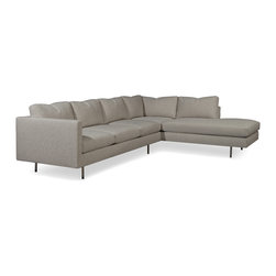 Milo Baughman 855 Sectional from Thayer Coggin - Thayer Coggin, Inc.