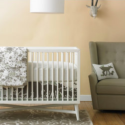 Woodland Tumble Nursery Collection - Woodland creatures and a neutral color scheme are a great pairing for any nursery.