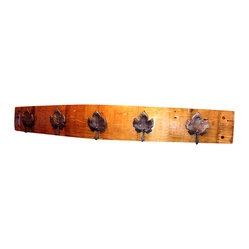 Grape Leaf Coat Rack