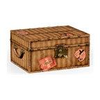 Jonathan Charles - New Jonathan Charles Box Yellow Travel Trunk - Product Details