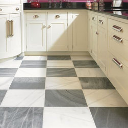Spanish Macael Grey and White marble - This beautiful marble is specially quarried and produced for Paris Ceramics from quarries located in the southeast area of the Iberian Peninsula in Spain.