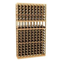 9 Column Display Wood Wine Rack - The 9 Column Display Wood Wine Rack is part of our 6' Series.
