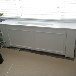 Contemporary AC/Radiator Cover - - Custom removable panel