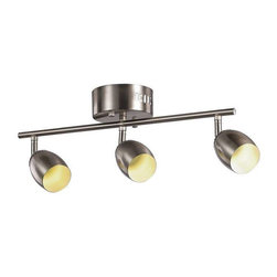 Trans Globe Lighting - Trans Globe Lighting W-813 BN Track Light In Brushed Nickel - Part Number: W-813 BN