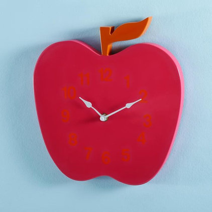 contemporary clocks by The Land of Nod