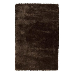 Surya - Surya Nimbus NBS-3000 5' x 8' Dark Chocolate Rug - This Hand Woven area rug would make a great addition to any room in the house. The plush feel and durability of this area rug will make it a must for your home.