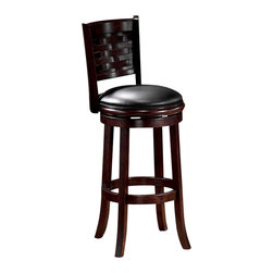 """Boraam - Boraam Sumatra 29"""" Swivel Bar Stool in Cappuccino - Boraam - Bar Stools - 48029 - Boraam's high quality products are well styled and priced right. Benefitting from years of experience in the industry. Boraam knows what you look for in quality furniture and takes pride in getting orders out as diligently as possible. Feel confident that Boraam will take your living space to another level."""