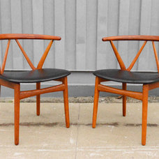 Modern Dining Chairs by Mid Century Mobler