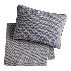 Peacock Alley - Veneto Blanket, Navy, King - Classic style and consummate comfort go together in this 100 percent Egyptian cotton blanket. The herringbone pattern in neutral hues will seamlessly suit your traditional bedroom décor. And the feel against your skin? Sublime!