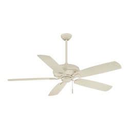 Minka-Aire - Minka-Aire Sunseeker Bone White Ceiling Fan - F532-BWH - This Ceiling Fan is part of the Sunseeker Collection and has a Bone White Finish.
