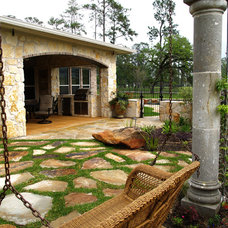 Traditional Patio by UpCountry Inc