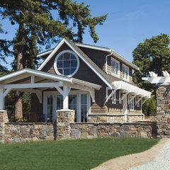 traditional exterior by Dan Nelson, Designs Northwest Architects