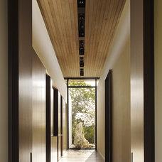 Modern Hall Courtyard Residence