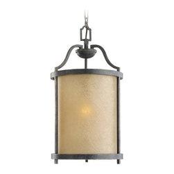 Nautical Hanging Lantern Pendant Light in Bronze Finish -